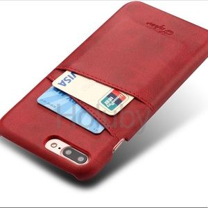Accessories - For IPhone 7/8 Plus Dual Red Case